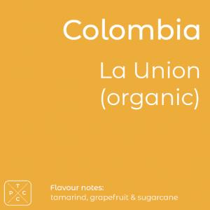 Colombia, La Union, Organic Coffee