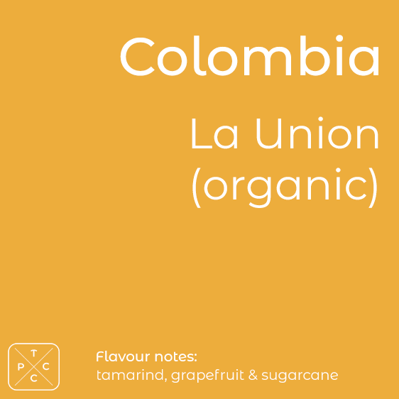 Colombia, La Union, Organic Coffee