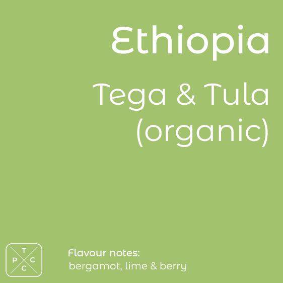 Ethiopia, Tega & Tula, Organic Coffee