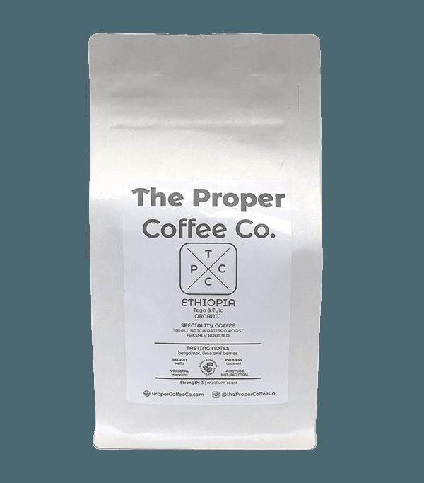 Ethiopia, Tega & Tula Farms, Speciality Coffee