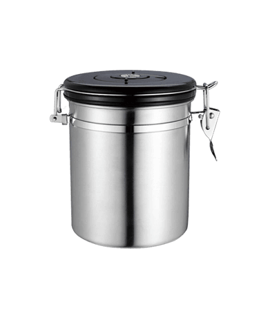 Airtight Coffee Container with CO2 Valve