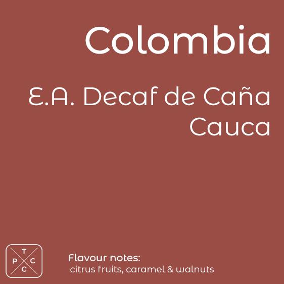 Decaf de Cana, Cauca, Colombia