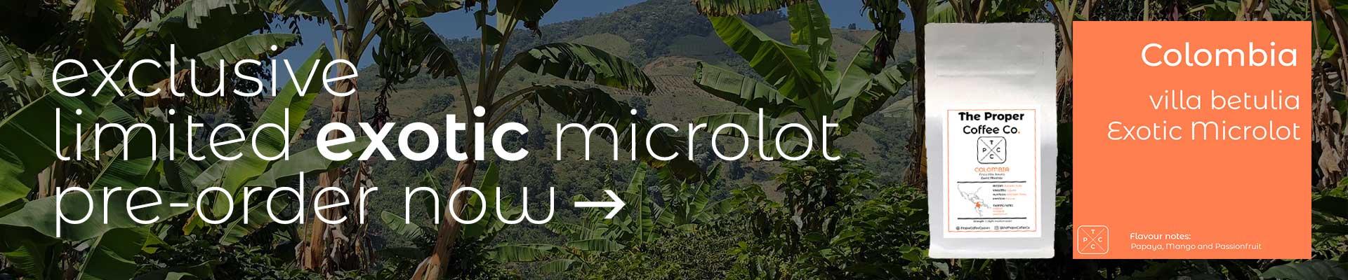 Pre-Order Now > Limited Exotic Microlot > Villa Betulia
