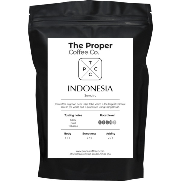 Indonesia, Sumatra, Lake Toba Coffee