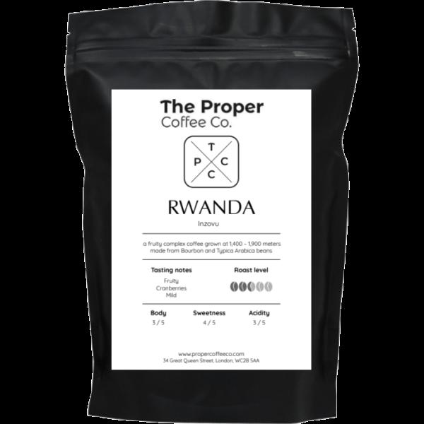 Rwanda, Inzovu, Single Origin Coffee