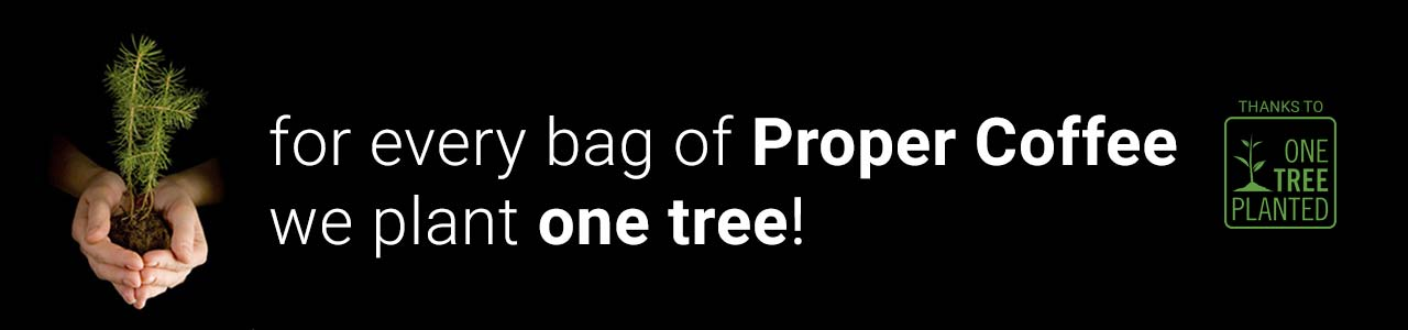 Sustainability with Coffee | One Tree Planted for Every Bag of Coffee Sold